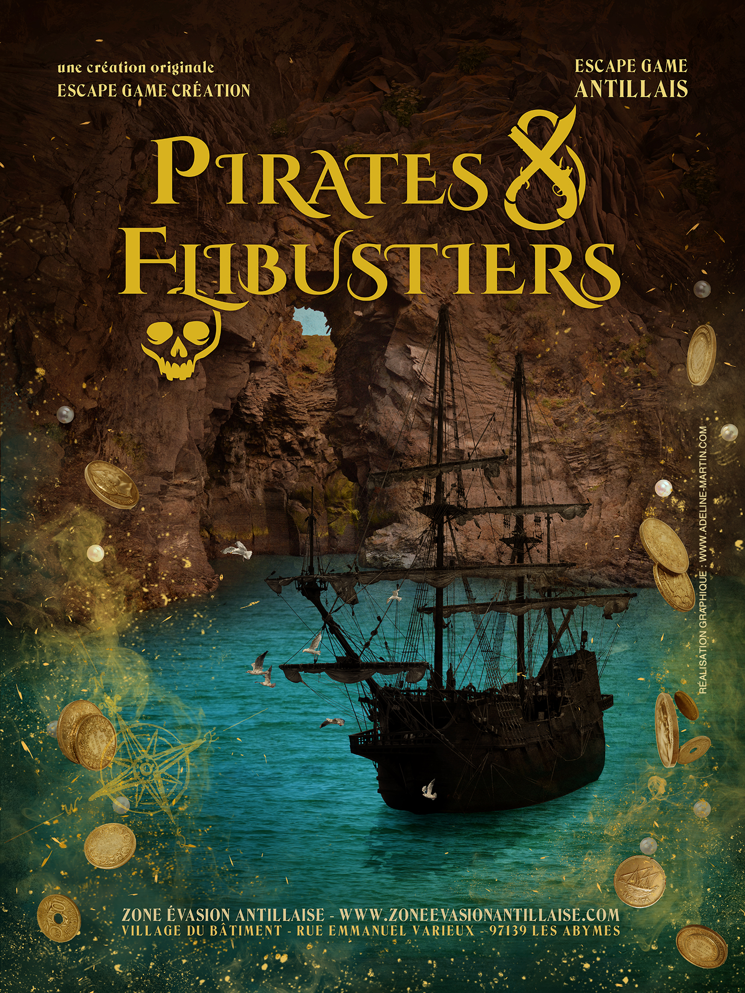 Pirates & Flibustiers - Zone Evasion Antillaise
